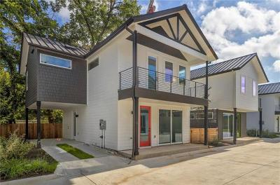 Austin Single Family Home For Sale: 1615 S 2nd St #2