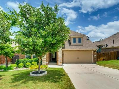 Leander Single Family Home For Sale: 524 Cerezo Dr