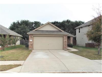 Leander Single Family Home For Sale: 181 Bufflehead Ln
