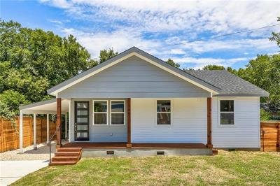Single Family Home For Sale: 1407 Coleto St