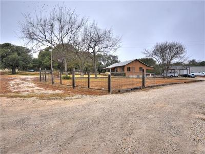 Liberty Hill Single Family Home Pending - Taking Backups: 1310 Ranch Road 1869