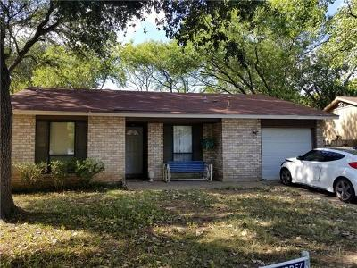 Austin Single Family Home For Sale: 4528 Turnstone Dr