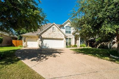 Cedar Park Single Family Home Active Contingent: 2309 Farrington Ct