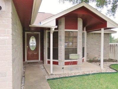 Pflugerville Single Family Home For Sale: 16302 Bates Cv