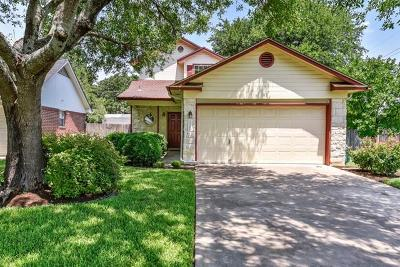 Round Rock Single Family Home For Sale: 1700 Sylvia Ln