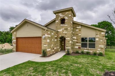 Round Rock Single Family Home For Sale: 2800 Joe Dimaggio Blvd #80