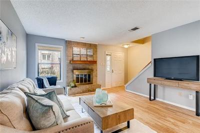 Travis County Condo/Townhouse For Sale: 852 Banister Ln
