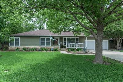 Austin Single Family Home Pending - Taking Backups: 6200 Wynona Ave
