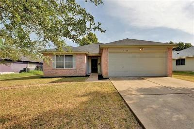 Hays County, Travis County, Williamson County Single Family Home For Sale: 7113 Apperson St