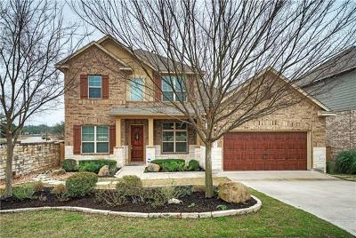Round Rock Single Family Home Active Contingent: 3805 Skyview Way