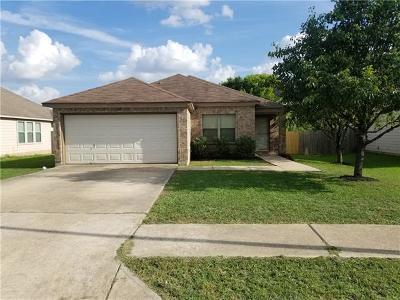 Round Rock Single Family Home For Sale: 1120 Apollo Cir