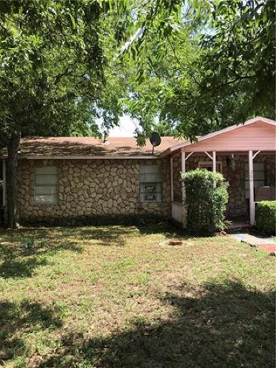 Round Rock Single Family Home For Sale: 209 E Milam St