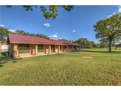 Burnet County Single Family Home For Sale: 131 Creek Ln