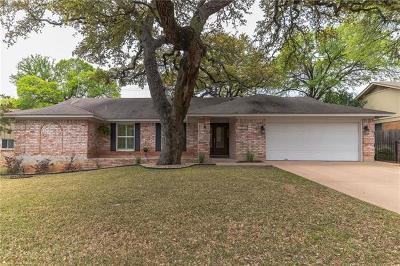 Austin Single Family Home Pending - Taking Backups: 11104 Alhambra Dr