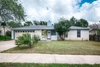 Pflugerville Single Family Home Pending - Taking Backups: 1500 Old Tract Rd