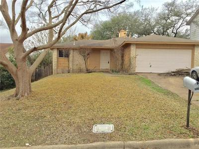 Hays County, Travis County, Williamson County Single Family Home For Sale: 7604 Banpass Ln