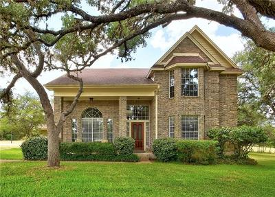 Dripping Springs Single Family Home For Sale: 26050 Ranch Road 12