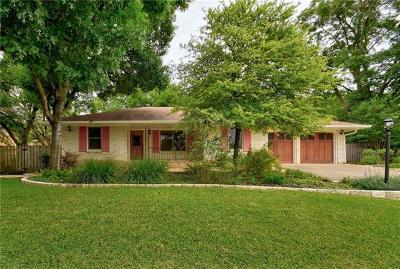 Austin Single Family Home For Sale: 8702 Oakmountain Cir