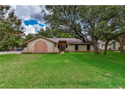 Georgetown Single Family Home For Sale: 812 Serenada Dr