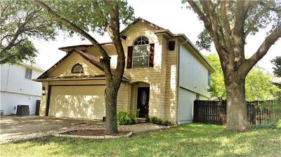 Austin Single Family Home For Sale: 14839 Single Trce