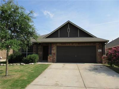 Buda Single Family Home For Sale: 132 Sandstone Trl