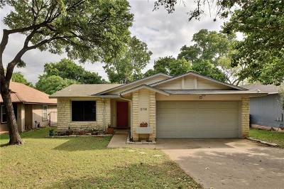 Austin TX Single Family Home For Sale: $269,000