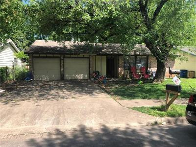Austin Single Family Home For Sale: 4513 Turnstone Dr