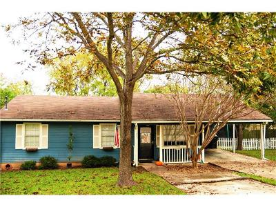 Georgetown Single Family Home For Sale: 1205 Peach Tree Ln