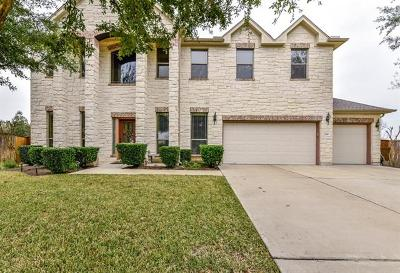 Round Rock Single Family Home For Sale: 2108 Reston Cv