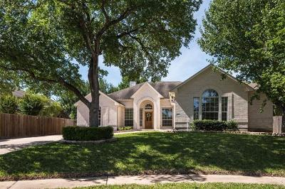 Cedar Park Single Family Home Pending - Taking Backups: 1205 Valorie Ct