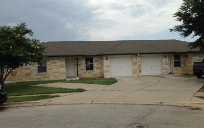 Hutto Multi Family Home Pending - Taking Backups: 247 Marvin Cv