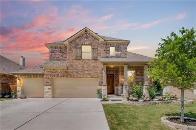 Round Rock Single Family Home For Sale: 2722 San Milan Pass
