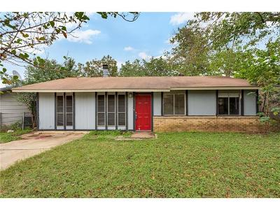 Austin Single Family Home Pending - Taking Backups: 7107 Cherry Meadow Dr