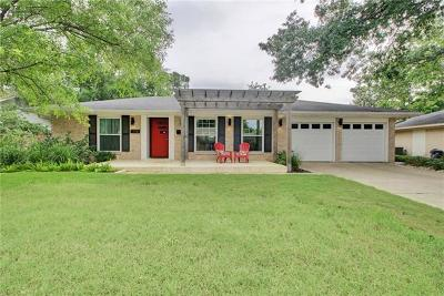 Austin Single Family Home For Sale: 1708 Broadmoor Dr