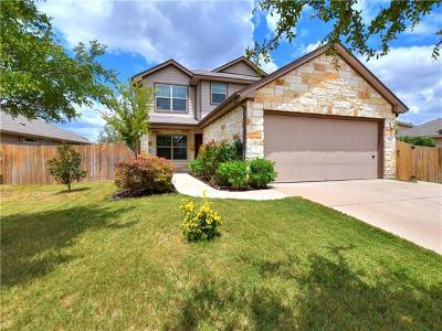 Leander Single Family Home For Sale: 500 Mourning Dove Ln