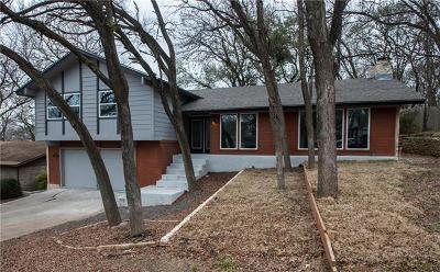 Round Rock Single Family Home For Sale: 409 Dove Haven St