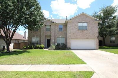 Round Rock Single Family Home For Sale: 7109 Avignon Dr