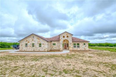 Burnet Single Family Home For Sale: 312 First Down Dash
