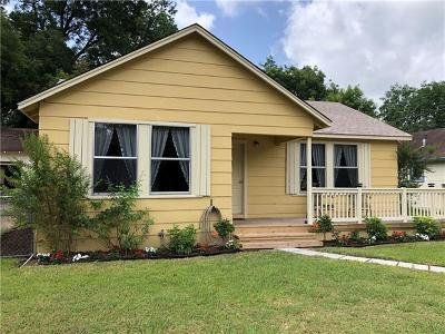 Taylor Single Family Home For Sale: 1401 Cecelia St