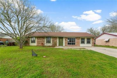Lockhart Single Family Home For Sale: 121 Sunset Dr