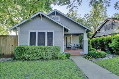 Austin Single Family Home For Sale: 4303 Speedway