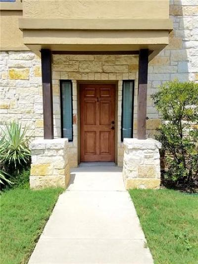 Round Rock Condo/Townhouse Pending - Taking Backups