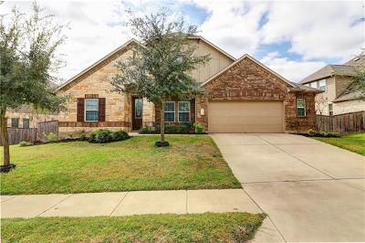 Round Rock Single Family Home For Sale: 4208 Pebblestone Trl