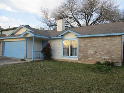 Hays County, Travis County, Williamson County Single Family Home Pending - Taking Backups: 2606 Aylesbury Ln