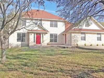 Leander Single Family Home For Sale: 1109 Oak Hollow Dr