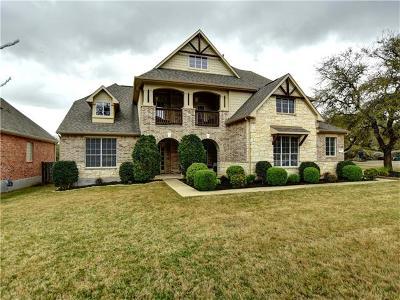 Austin Single Family Home For Sale: 269 Clear Pond Cv