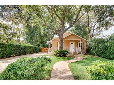 Austin Single Family Home For Sale: 1120 1/2 Tillery St