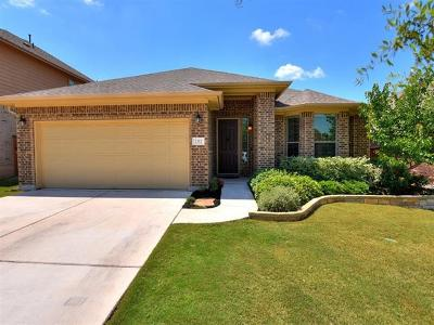 Leander Single Family Home Pending - Taking Backups: 2312 Lookout Range Dr