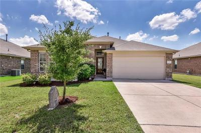 Hutto Single Family Home For Sale: 106 Mollie Dr