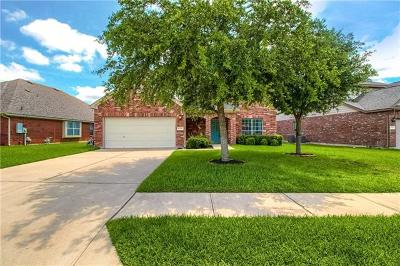 Cedar Park Single Family Home For Sale: 1506 Harvest Bend Ln